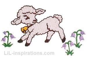 Easter Bunny Design Baby Blanket Gift